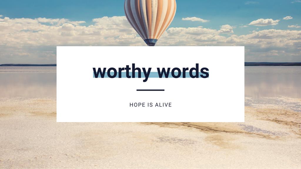 hope is alive banner